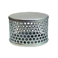 "Basket Type Steel Strainer 1-1/2"" - 4"""