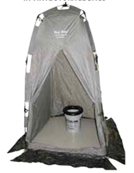 REHAB Brief Relief Portable Toilet & Shelter