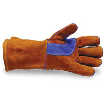 Long Cuff Leather Work Glove