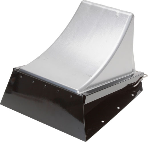 "Horizontal Storage Bracket for 12"" Long Wheel Chock"