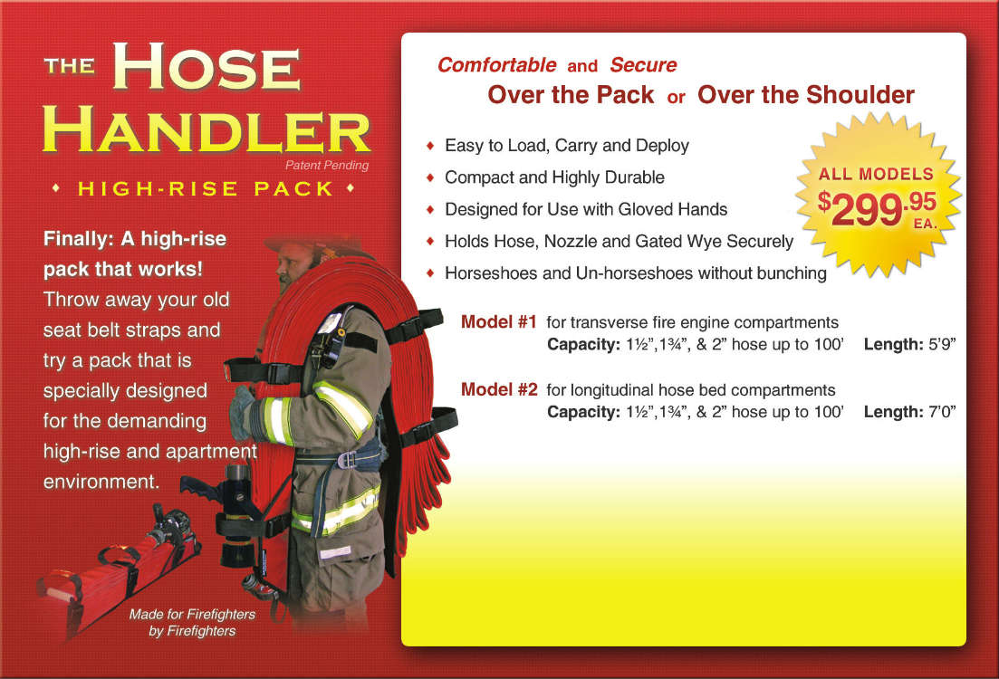 The Hose Handler - High-Rise Packs - CSS HDLx