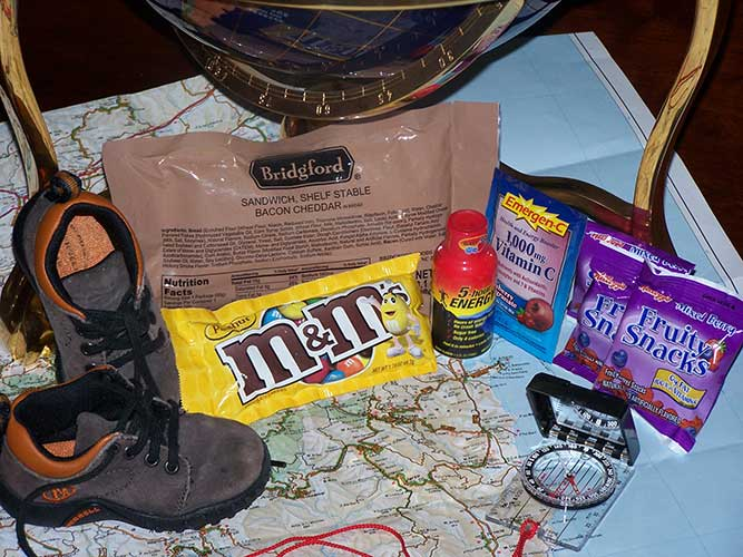 Coyote Camp Jet-Pac Adventure Traveler Meal