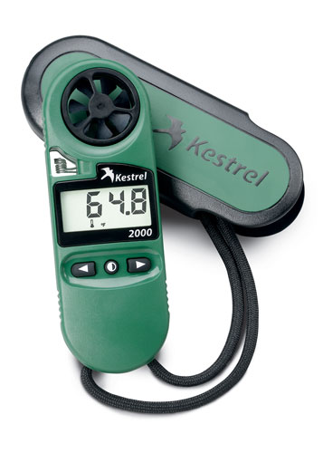 Kestrel 2000 Pocket Wind Meter