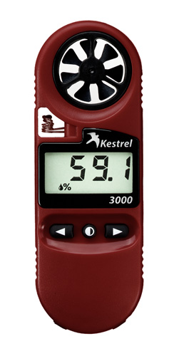 Kestrel 3000 Advanced Wind Meter