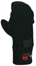 DragonWear FLIP-TOP Nomex Fleece Mittens - True North - TNG DF95