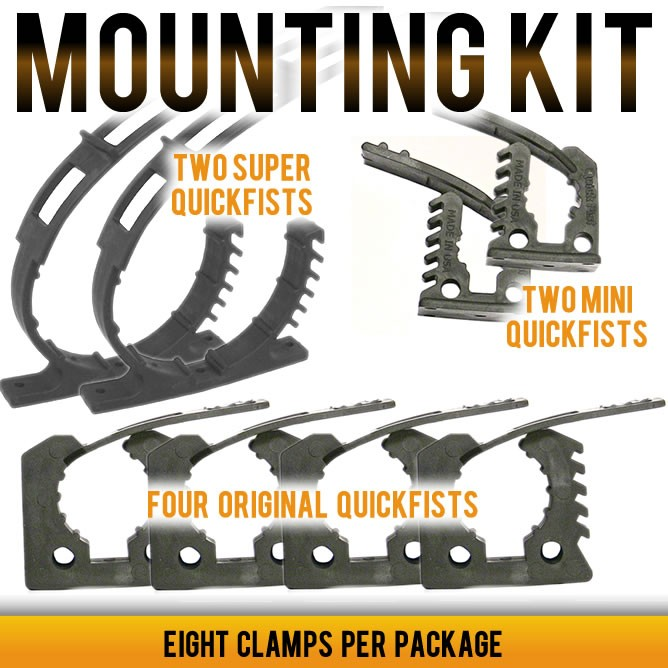 QUICK FIST Clamp Mounting Kit