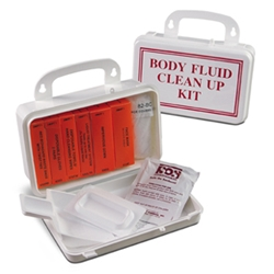 Swift Body Fluid Clean Up Kit 10 Unit first aid kit, first aid kits, swift first aid, swift