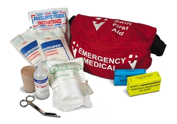 Swift First Aid Fanny Pack Kit first aid kit, first aid kits, swift first aid, swift, fanny pack first aid kit