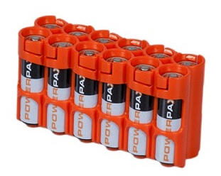 12AA Pack Battery Caddy