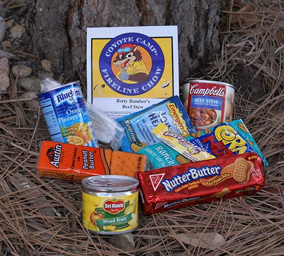 Coyote Camp Standard Meals