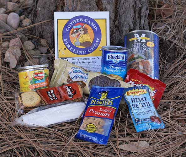 Coyote Camp Super Meals