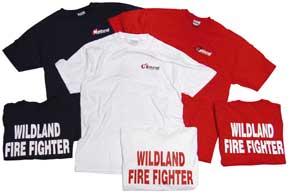 National Fire Fighter Corp. 100% Cotton T-shirt *Discontinued*