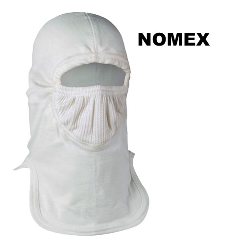 "Majestic Wildland Hood - Double Ply 21"" Nomex - DEMO shroud, smoke mask, wildfire smoke mask"