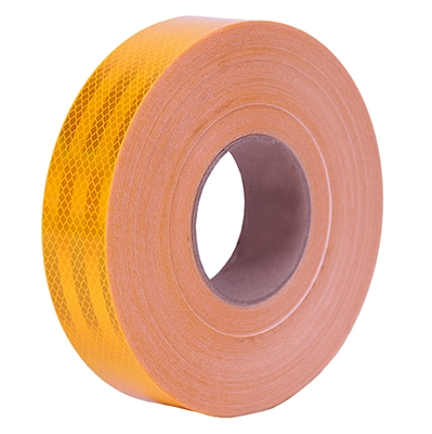 "3M Diamond Grade Reflective Tape 1-3/4"" Yellow"