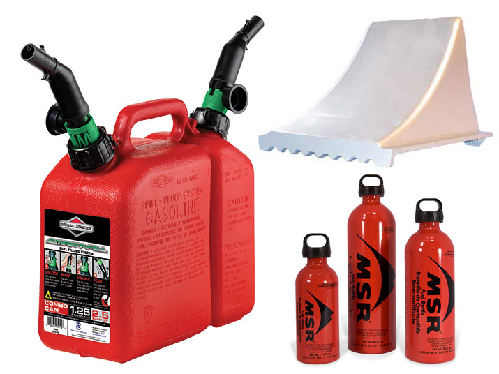 Fuel Cans & Vehicle Tools