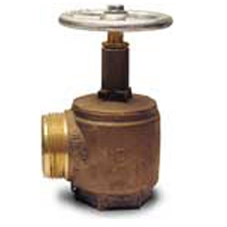 "Angle Hose Valve 2-1/2"" Female IPT x 2-1/2"" Male NST"