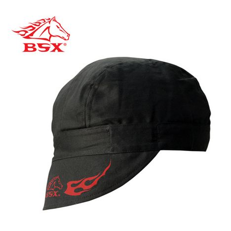 BSX Welding Cap with Elastic black stallion, bsx, revco