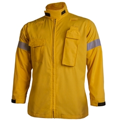 CrewBoss Gen II Response Jacket - Sigma 4 Star CrewBoss brush coat, sigma, NOMEX, brush coat, firefighter brush coat, fire fighter brush coat, firefighter protective coat