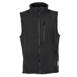 DragonWear Alpha Super Fleece Fleece Vest - True North super fleece, nomex fleece, true north, dragonfur, fleece vest, nomex vest, nomex fleece vest, dragon fur, DragonWear