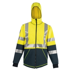 DragonWear Elements Nova Hooded Jacket - Yellow