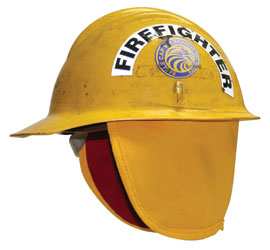 "Neck Protector Short 7"" Lined bullard helmet, fire helmet, hard hat safety, Neck Protector, shroud"
