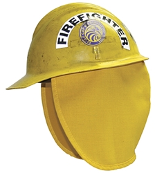 "FP300 Neck Protector 9"" Unlined bullard helmet, fire helmet, hard hat safety, Neck Protector, shroud"