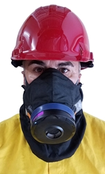 Hot Shield HS-4 FR Housing for Sundstrom Respirator SR-100 shroud, smoke mask, wildfire smoke mask