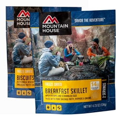 Mountain House Breakfast 2-Serving Pouches