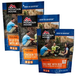 Mountain House Entrée 2-Serving Pouches