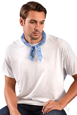 Neck Bandana by Miracool Cowboy Blue