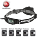 Nightstick Multi-Function Headlamp with Rear Safety LED - NST NSP4616B