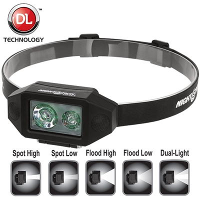 Nightstick Multi Function Low Profile LED Headlamp