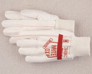 North Star White Ox Elastic Band Glove North Star, firefighter gear, wildland fire gloves, white ox, white ox glove
