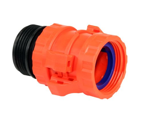 "Scotty Quarter Turn Quick Connect x 1.5"" Male NHT (Orange)"