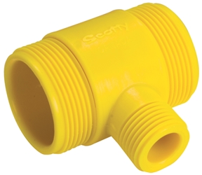 Scotty Water Thief Tee Connector
