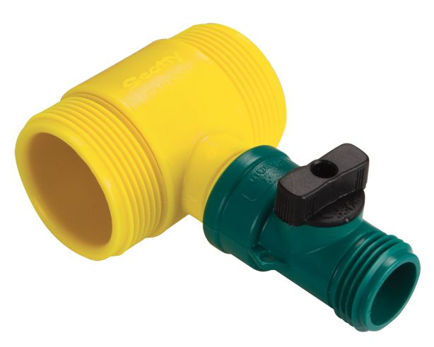 Scotty Water Thief with Shut-Off Tee Connector