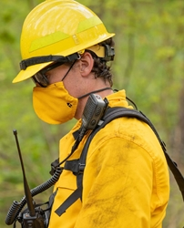 True North Gear Wildland FR Face Mask smoke mask, wildfire smoke mask, face mask, fr face mask, fr face protection