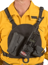 True North Single Universal Radio Chest Harness - Gen 2