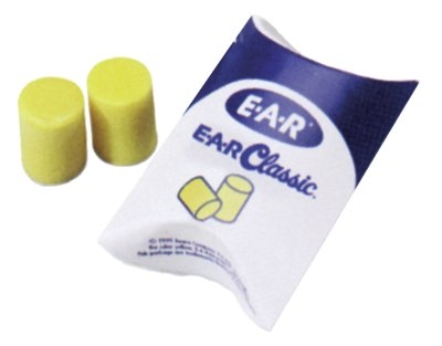3M E-A-R Classic Foam Earplugs - Box of 200