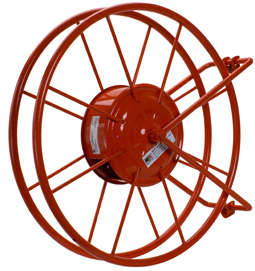 Warehouse Fire Hose Reel hose, reel